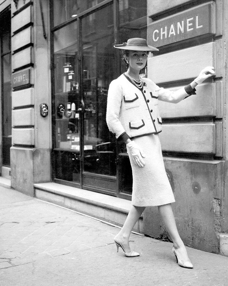 твидовый костюм Шанель
