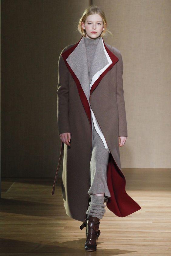 Длинные пальто