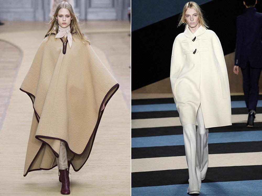Пальто-накидки