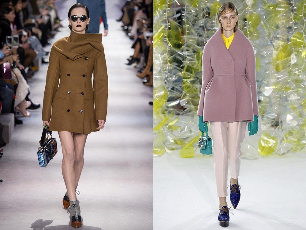 Укороченное пальто 2017