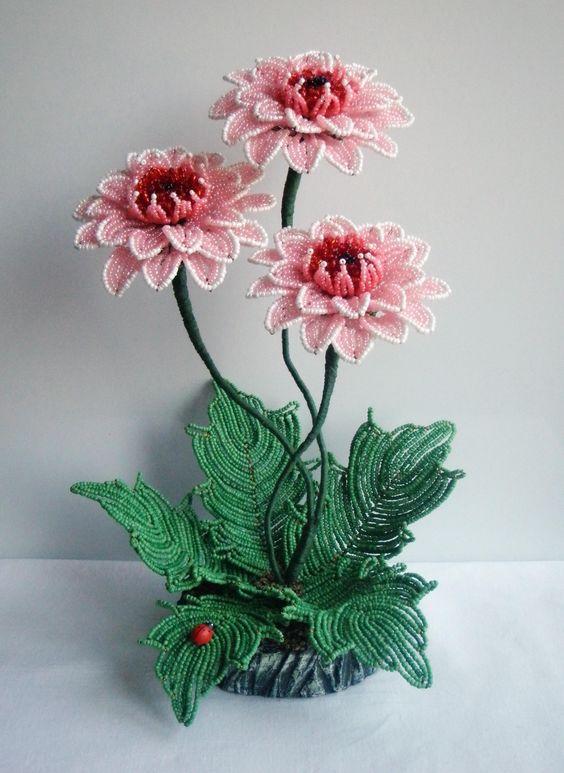 Бисероплетение фото самые красивые цветы