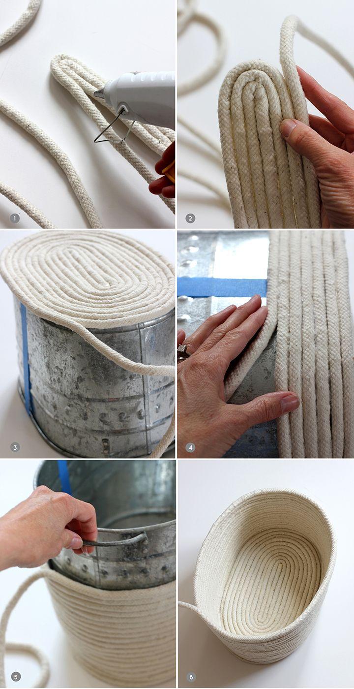 Изделия из верёвок своими руками фото 668