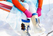 Стильная зимняя обувь: Валенки на фото новые фото