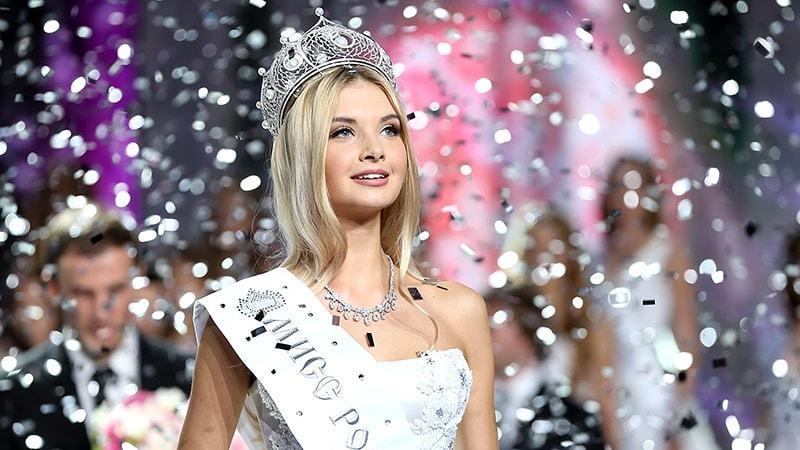 победительница Мисс Россия 2017 Полина Попова