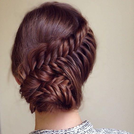 как самой собрать волосы красиво