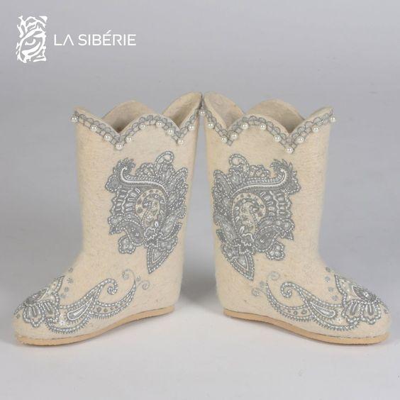 Стильная зимняя обувь: Валенки на фото картинки