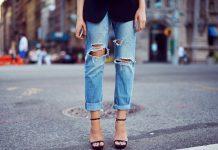 Как сделать бахрому на джинсах (51 фото с чем носить)