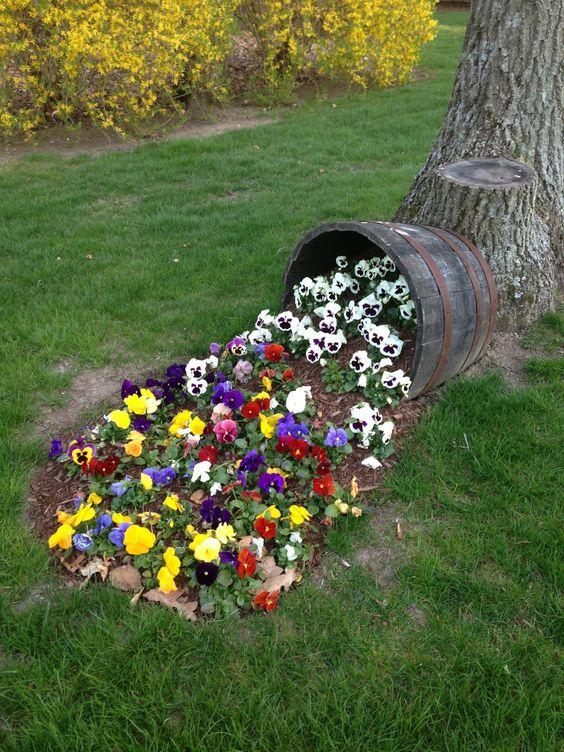 Интересные идеи как сделать украшения для сада своими руками - Дневник  садовода vzimsadu.ru