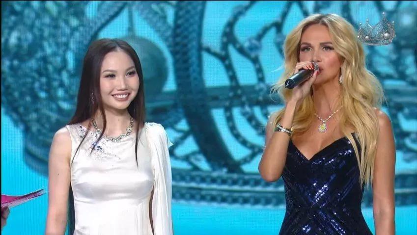 Анжелика Назарова на Мисс Россия 2017