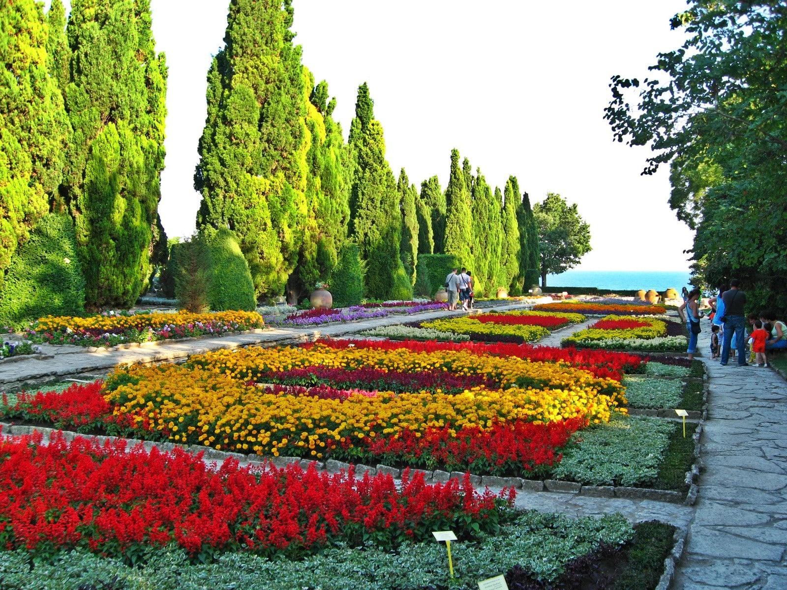 Ботанический сад Балчик Болгария