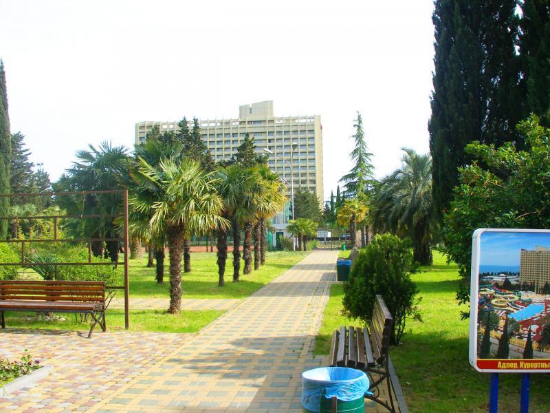 Курортный городок, отель