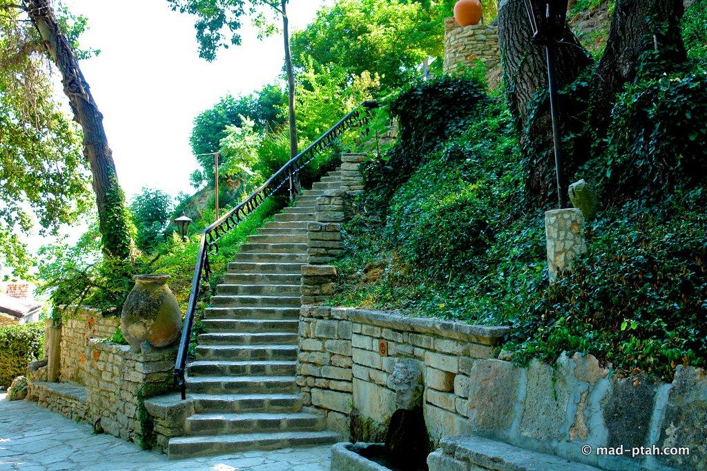 ботанический сад Балчика Болгария