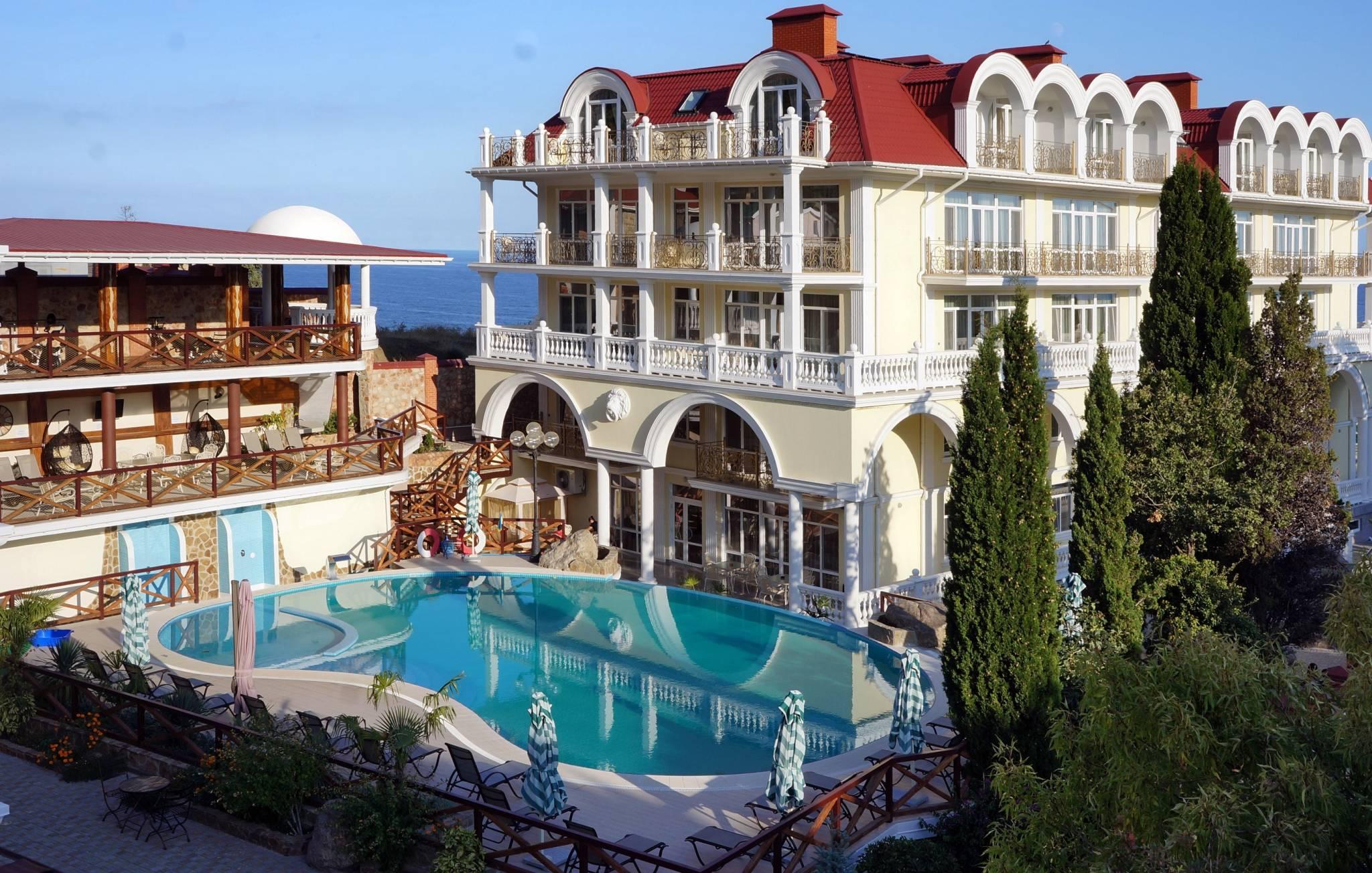 отели в Крыму