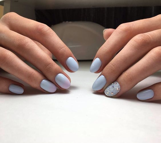 100 Ideas For Pastel Colored Manicure