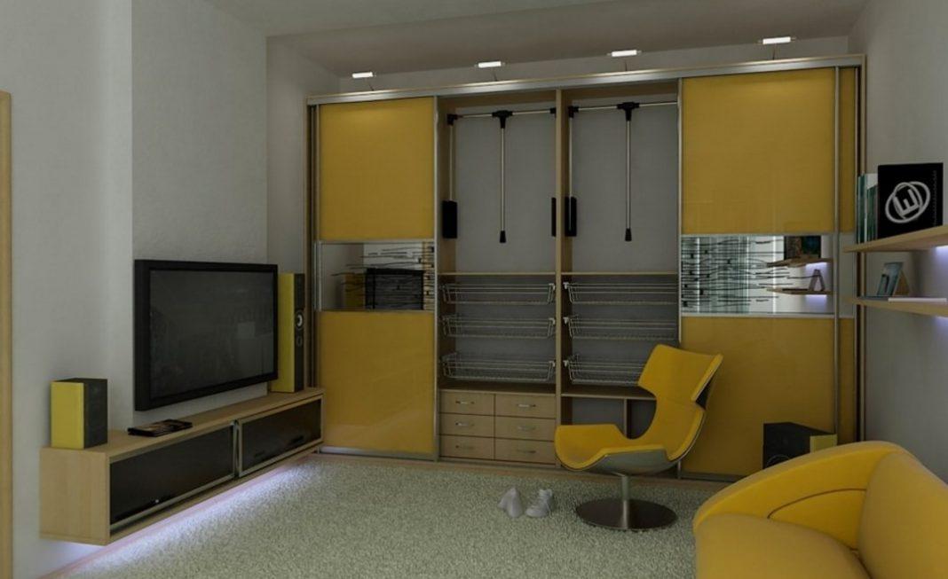100 идей дизайна: шкаф-купе в прихожей, гостиной и спальне н.