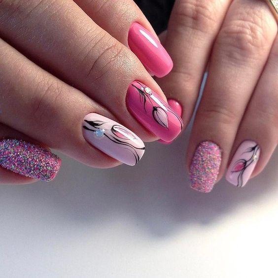 Формы ногтей маникюр своими руками фото 144