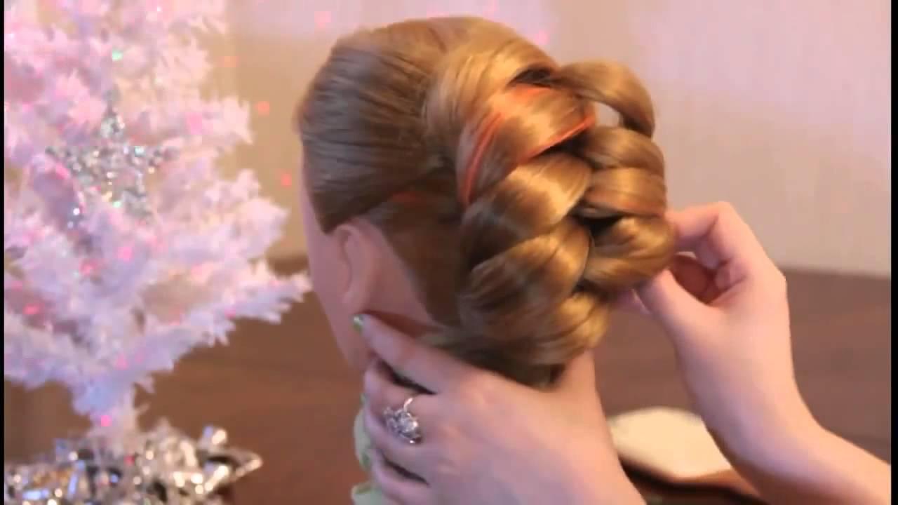 maxresdefault-2 Фото свадебных и вечерних причесок с косами 27 идей