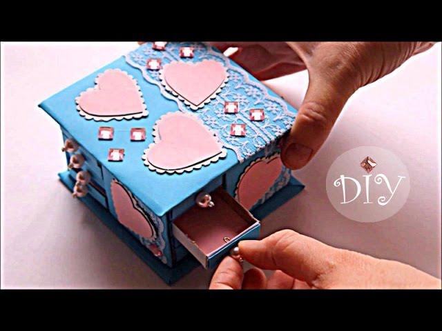 sddefault Как сделать шкатулку для украшений из картона или коробки своими руками: 5 пошаговых мастер-классов с фото