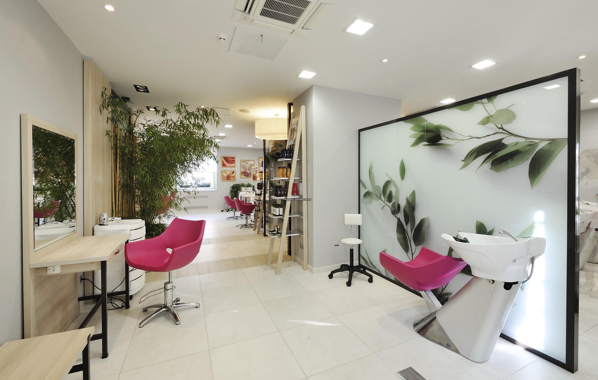 Создаём лучшие в мире проекты салонов красоты Salon Design