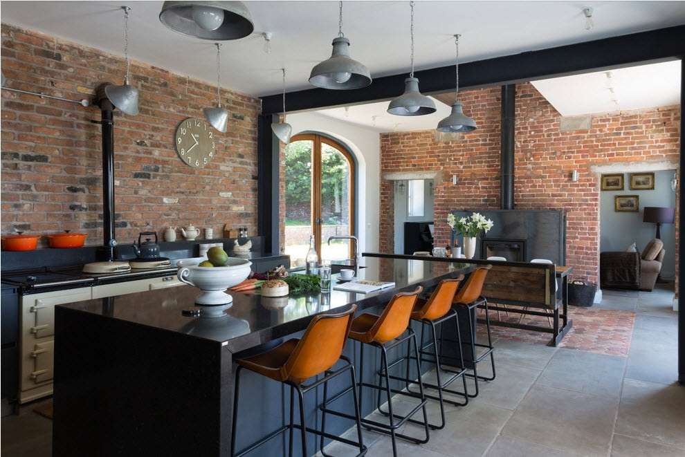 100 лучших идей дизайн кухни в стиле лофт на фото