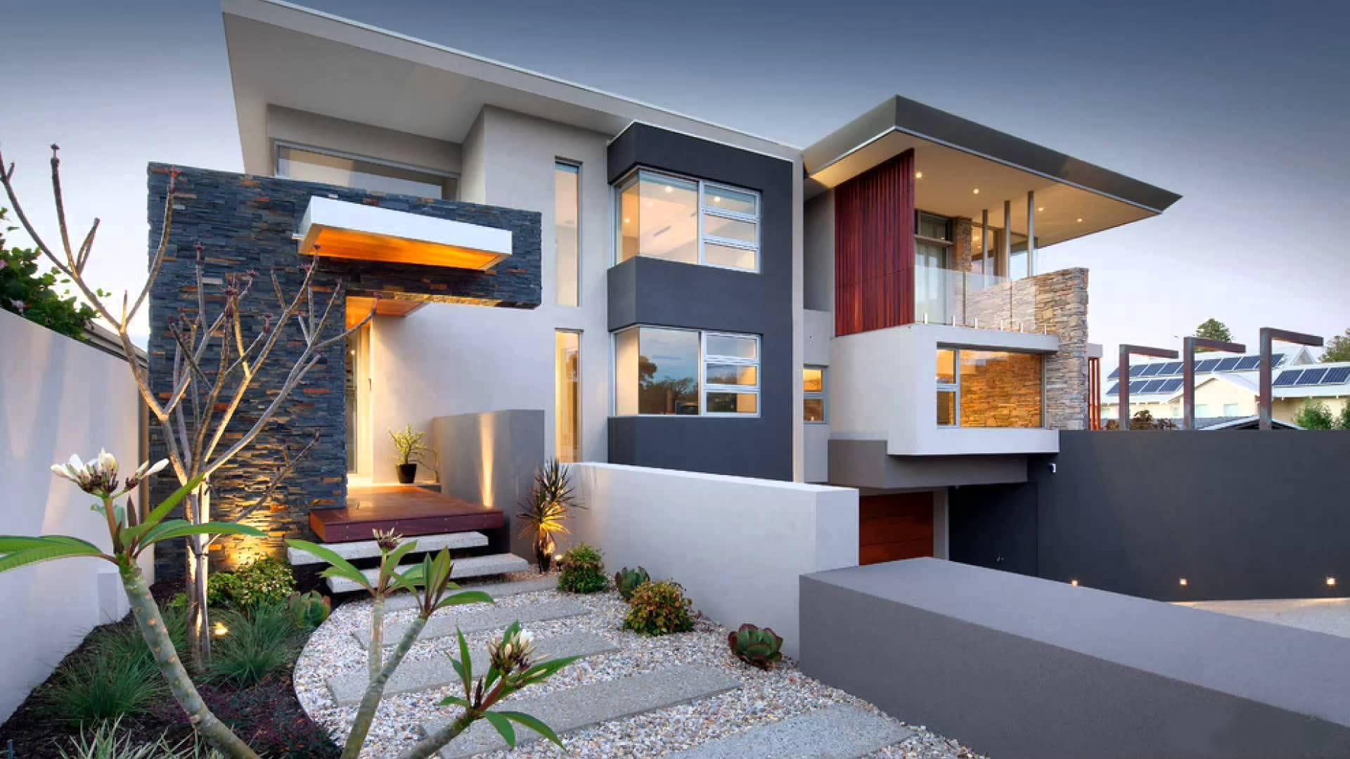 100 лучших идей дизайна: дома в стиле хай-тек (снаружи) на ф.