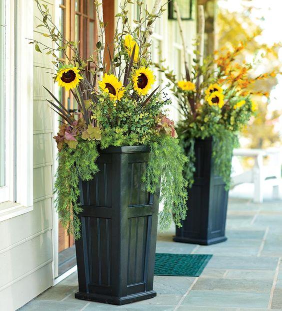 стоит цветы в уличных вазонах идеи фото этом все японцы