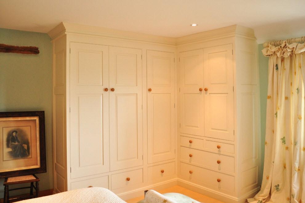 100 лучших идей дизайна: угловые шкафы на фото.