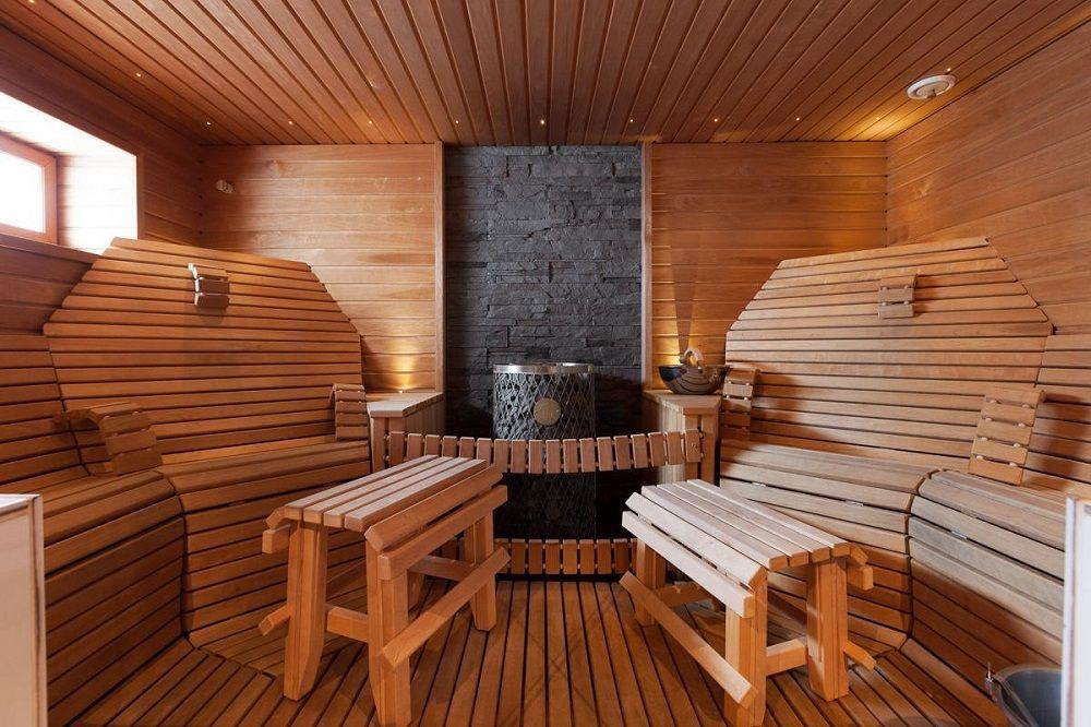Помывочные в бане внутренний интерьер