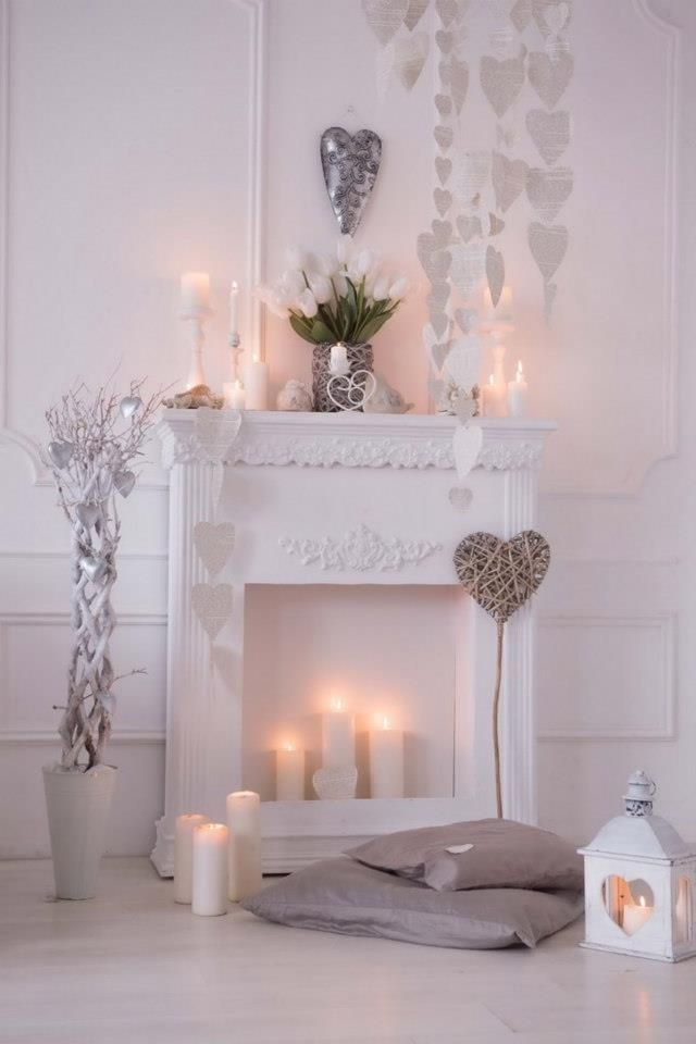 Декоративный камин в интерьере