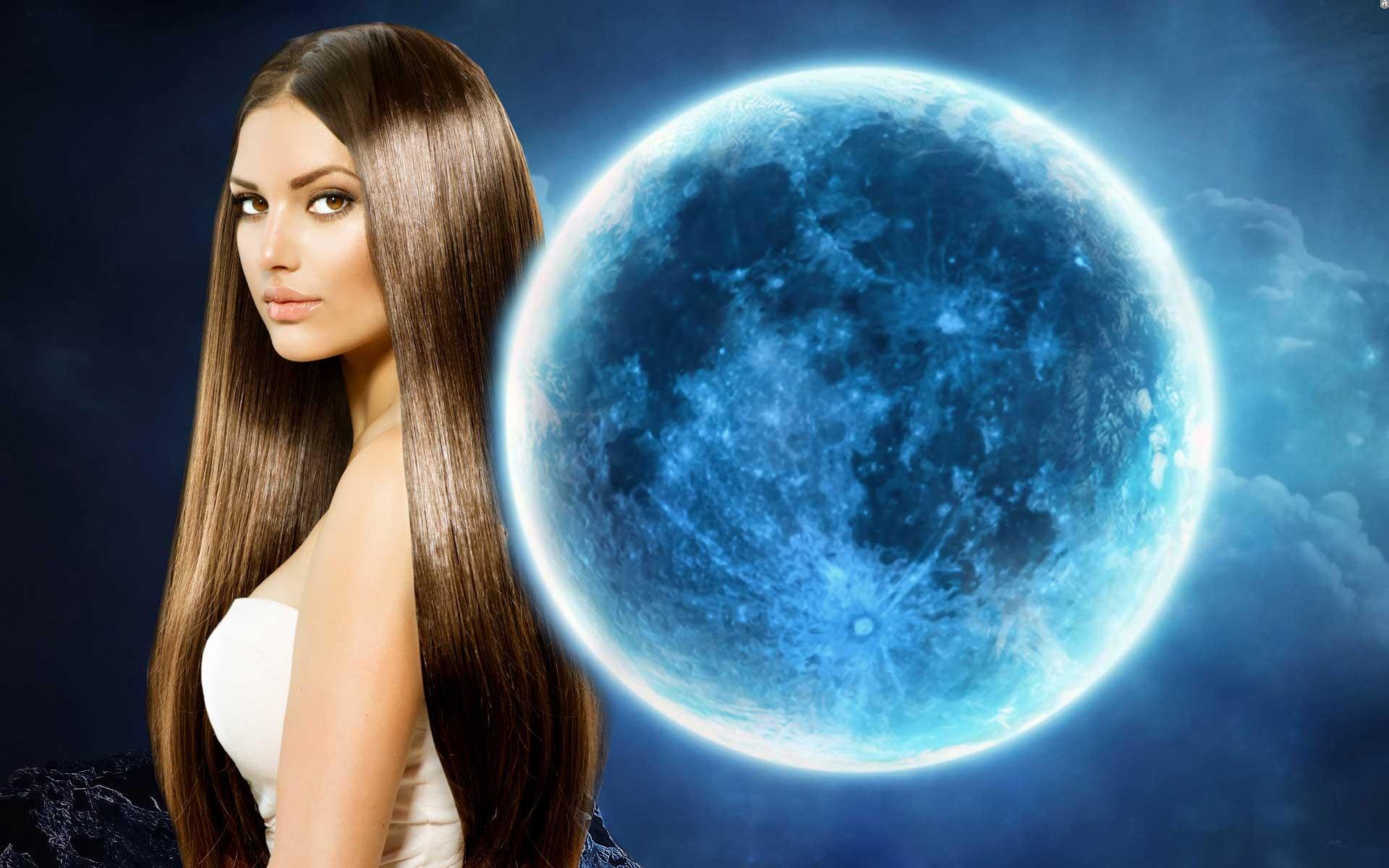 Лунный календарь окрашивания волос в августе 2017 года