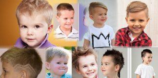 Модные-стрижки-для-маленьких-мальчиков-фото