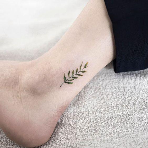 Татуировки на Лодыжке для девушек Женские Тату вокруг 47