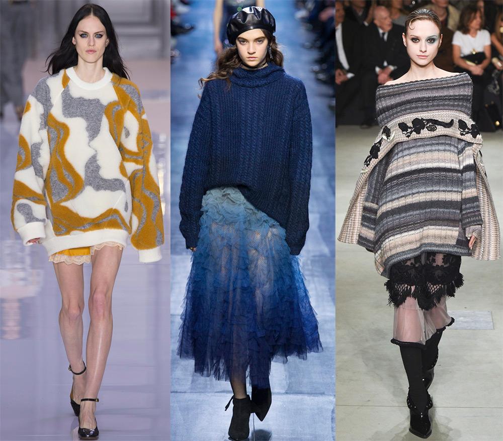 Модные пуловеры 2017