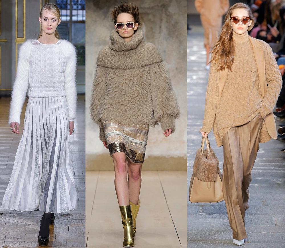 Модные джемпера 2018
