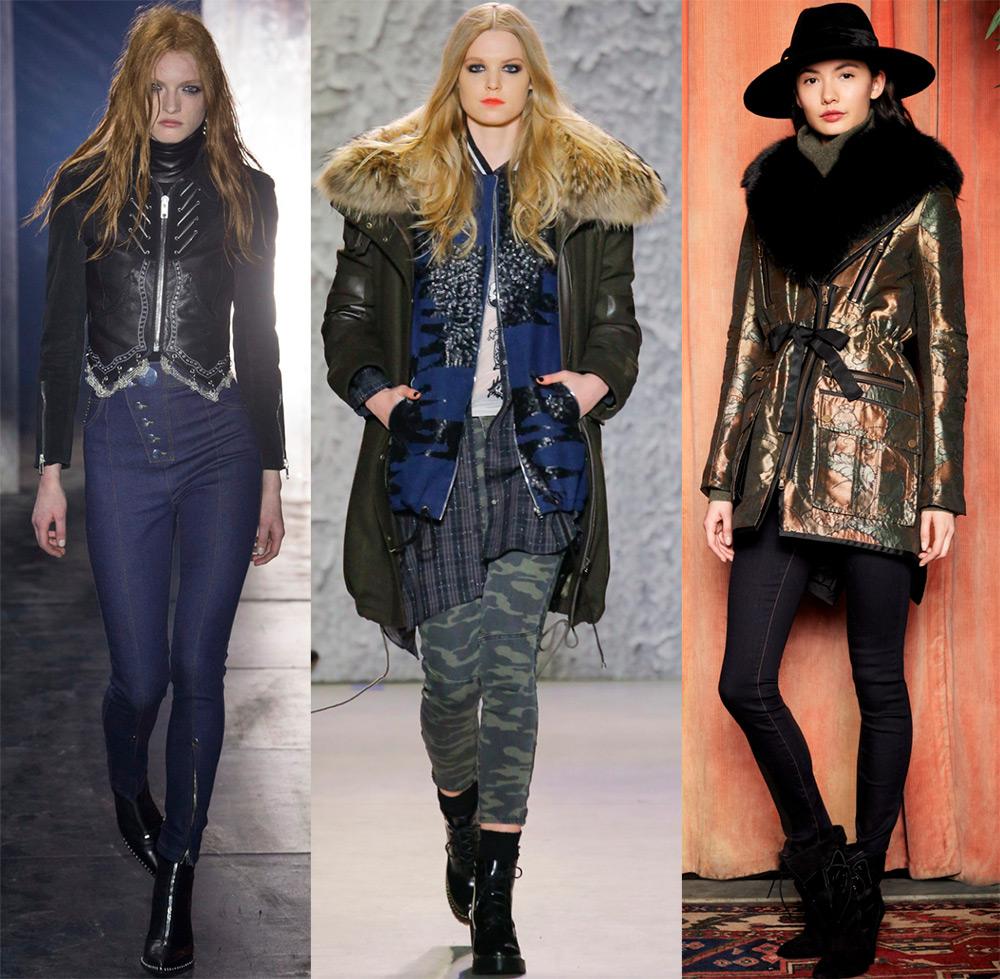 Мода и трендыЖенские куртки с мехом