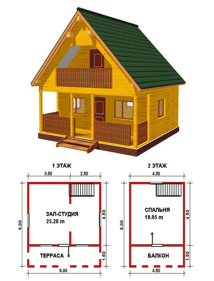 Как сделать проект двухэтажного дома фото 985