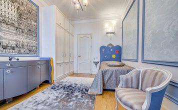 роскошный дизайн комнаты для девочки-подростка