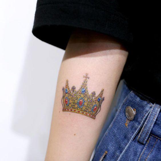 Тату корона: Красивые идеи со значением