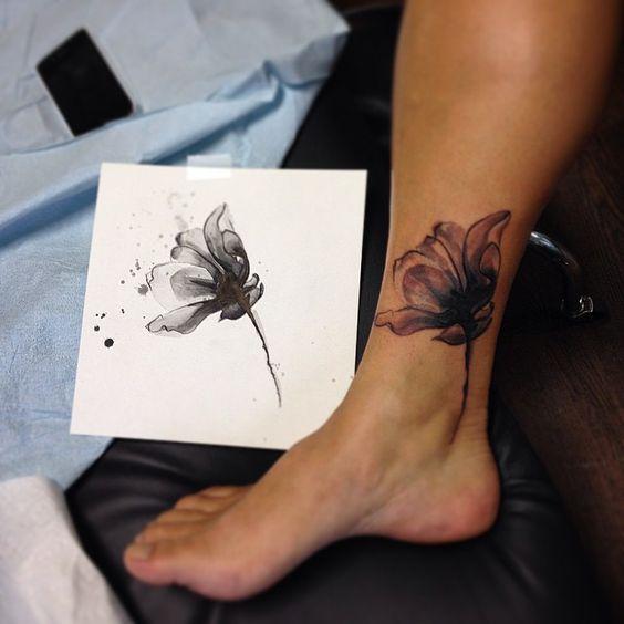 Tattoo Cover Up Quotes: 100 лучших идей: Красивые тату на щиколотке для девушек с фото