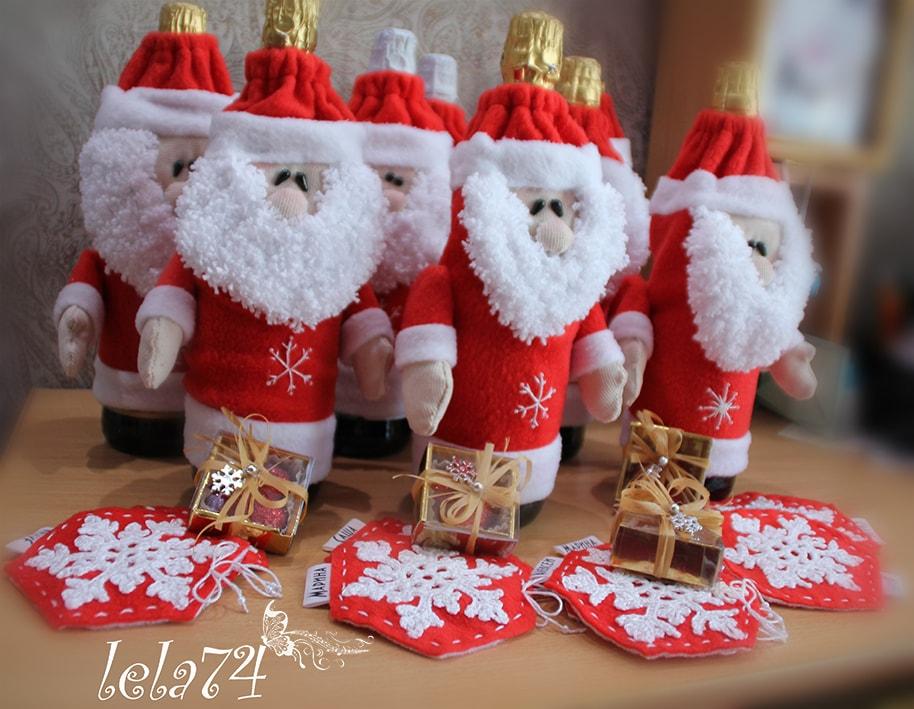 Своими руками шампанское дед мороз фото 660