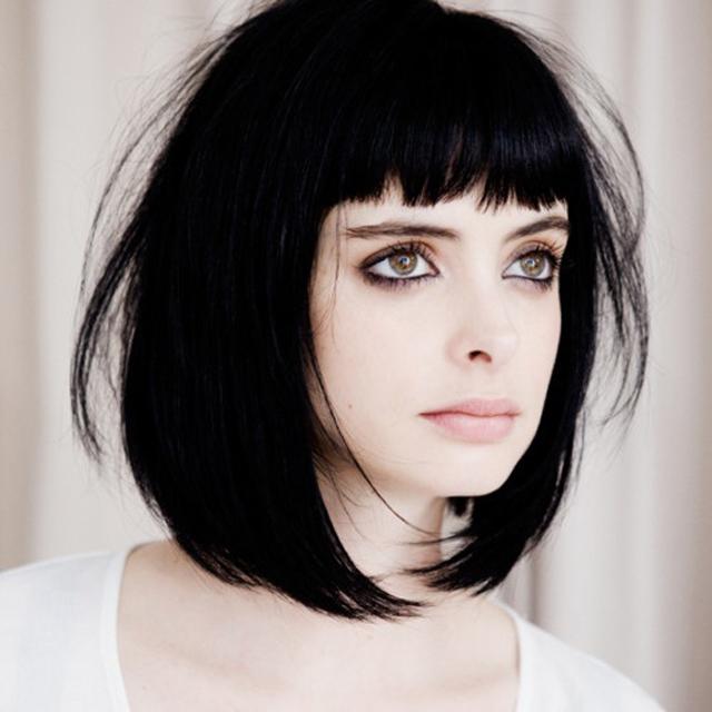 черные волосы фото стрижки фото