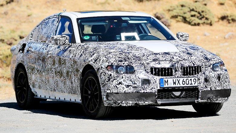 Новая BMW 3-series 2018 года