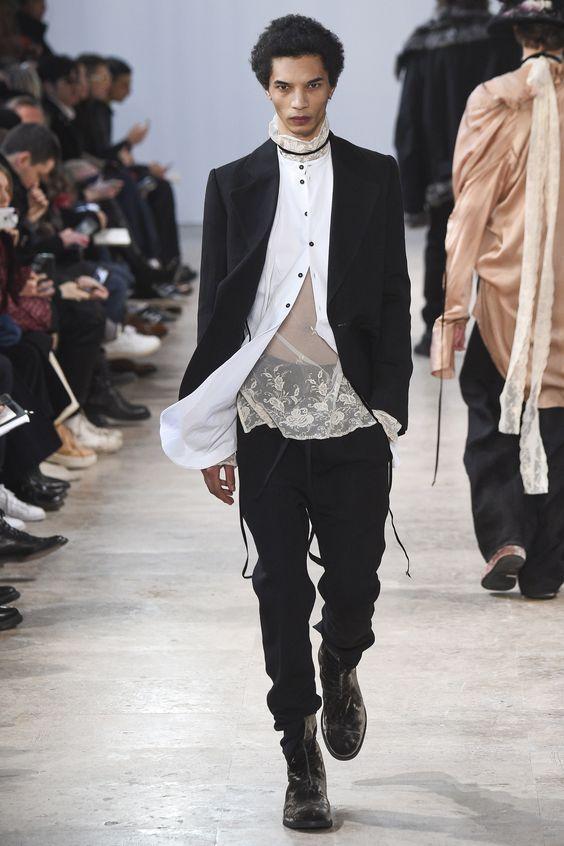 Мужская одежда осень-зима 2017-2018 года