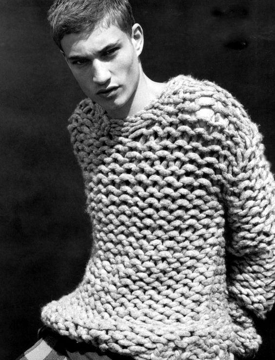 тут свитера крупной вязки мужские картинки сушка