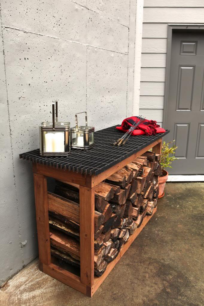 fireplace firewood rack - 682×1024