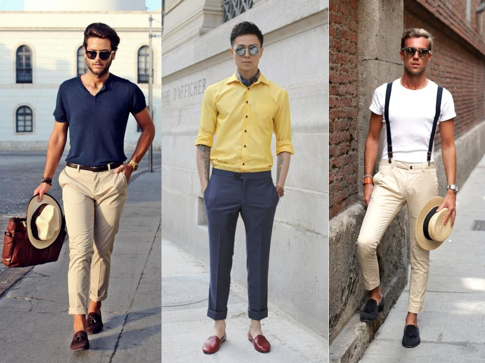 Smart Casual attire is something that many men look forward to donning on the weekends. But just because a situation calls for casual wear does not mean that men should stretch their limits too far. Smart Casual is comfortable but it does not mean that you have to wear track pants, sneakers and a .