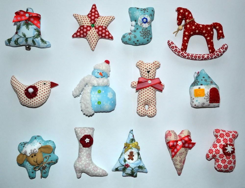 Разнообразие тканевых игрушек