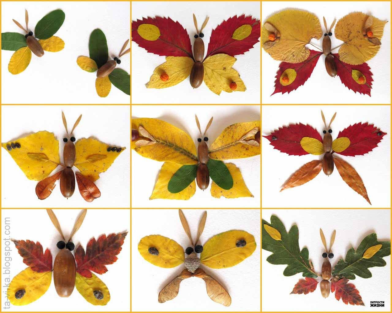 Осенние поделки в садик своими руками