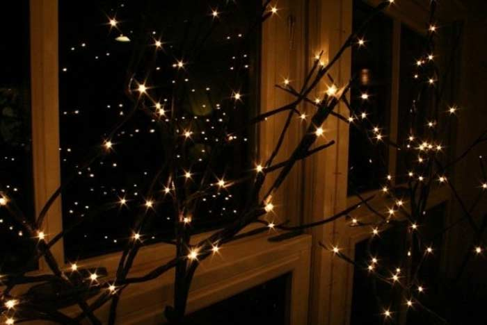 Огни на окне