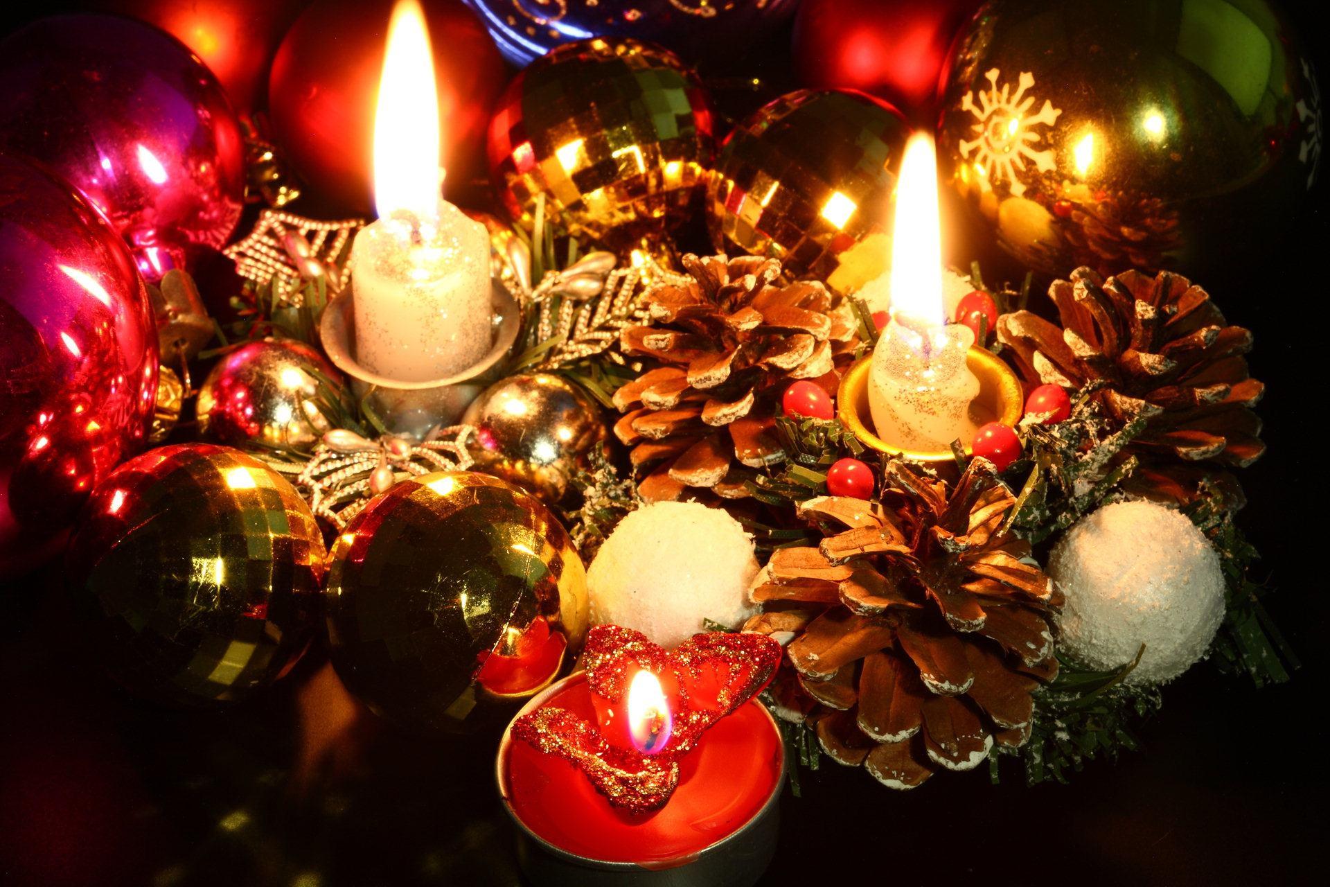 Свечи для праздника